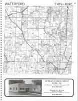 Map Image 024, Kenosha and Racine Counties 1986